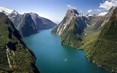 Zealand Milford Sound Captivating Nz South Travel