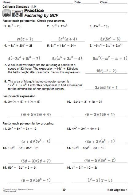 multiplying binomials foil practice worksheet answers
