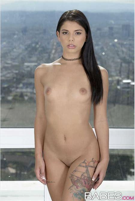 Hot Latina Girl Gina Valentina Strips And Poses Naked picture no 11.