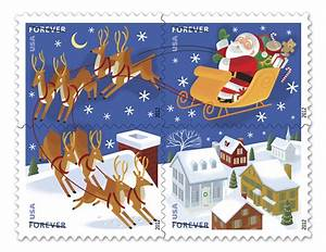 365 letters santa stamps With christmas letter stamp