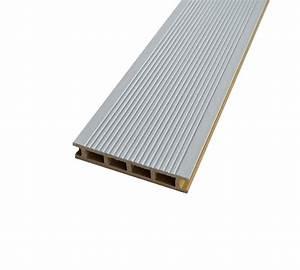 Lame De Terrasse Composite Longueur 4m : lame de terrasse bois composite blanc gris mdsa france ~ Melissatoandfro.com Idées de Décoration