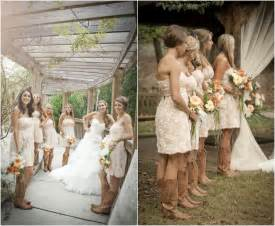 country wedding flower dresses wildcard wednesday cowboy boots fantastical wedding stylings