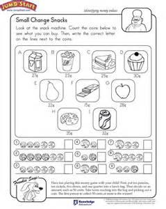 First Grade Money Math Worksheets
