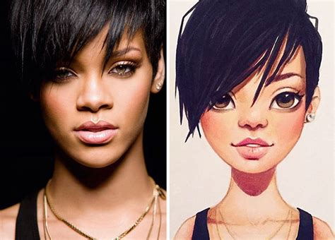 Russian Artist Turns Celebrities Into Adorable Cartoon