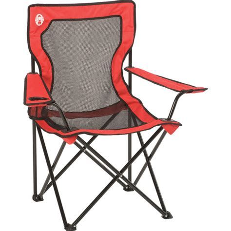 Coleman Chair Walmart by Coleman Broadband Chair With Mesh Back And Seat