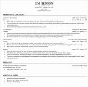 resume building resume cv template examples