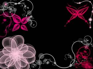 Pink and black wallpaper, pink and black wallpapers ...