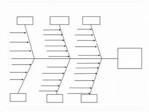 Microsoft Word Fishbone Diagram Template
