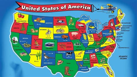 states song  kids  states  capitals