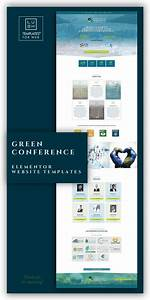 Green Conference Is A Premium Elementor Templates Package