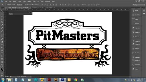 Coloring Logo In Photoshop by How To Design A Cool Logo