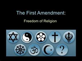 First 1st Amendment Freedom of Religion