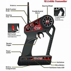 Traxxas Tq 2 4ghz Programmable Radio System With Traxxas