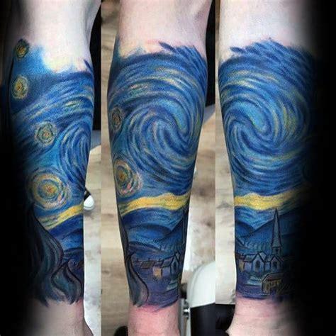 50 Vincent Van Gogh Tattoo Designs For Men - Artistic Ideas