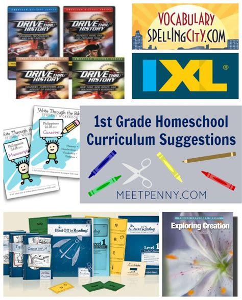 1st Grade Homeschool Curriculum  Meet Penny