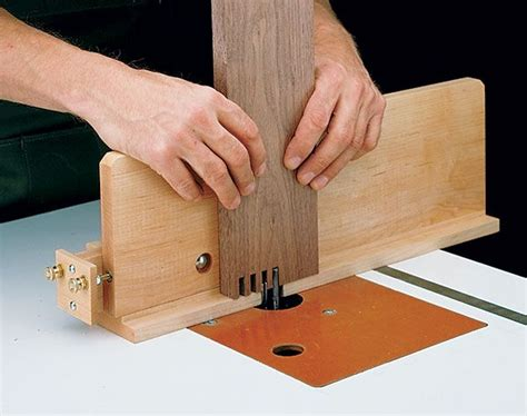box joint jig woodworking plan box joint jig