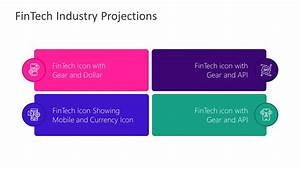 4 Steps Fintech Industry Projections Powerpoint