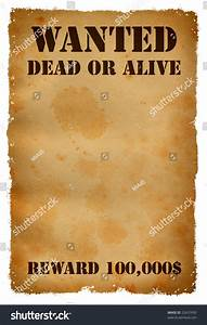 wanted poster maker funny wanted poster flyer template With wanted dead or alive poster template free