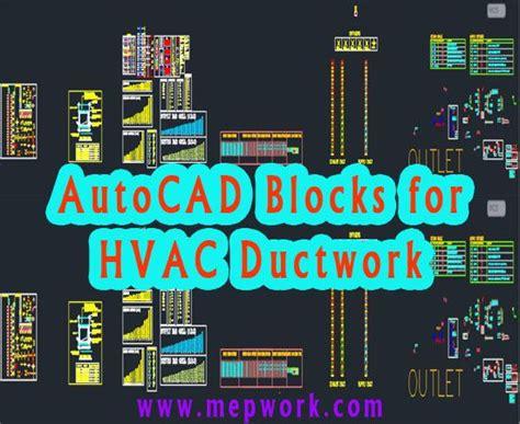 autocad blocks  hvac ductwork dwg hvac