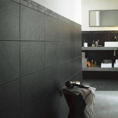 carrelage mur noir    cm ardoise vendu au carton