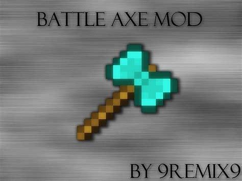[1.6.4] [forge] Battleaxes! Minecraft Mod