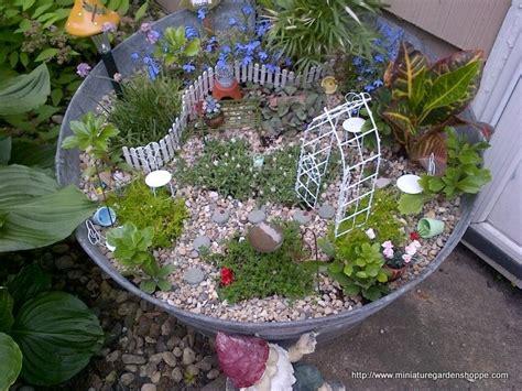 miniature garden supplies landscaping gardening