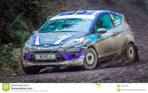 Ford Fiesta R2 Rally Car Editorial Photography. Image Of