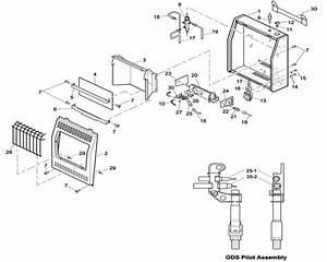 27 Comfort Glow Propane Wall Heater Parts  Comfort Heaters