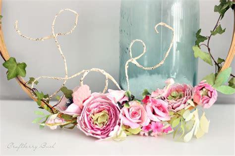 Watercolor Paper Flower Diy Wreath