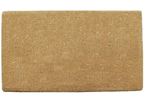 Plain Coir Doormat by Plain Thin Coco Doormats 1 Quot Thick Coco Doormats