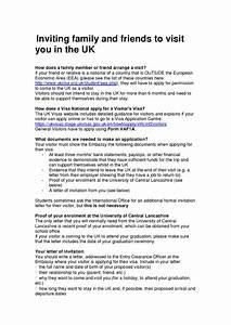 invitation letter for uk visa template best template With invitation letter for visitor visa uk template
