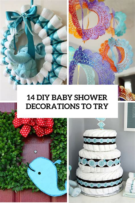 diy decorations 14 cutest diy baby shower decorations to try shelterness