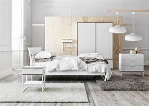 Idée Chambre Adulte : id e d co chambre adulte 100 suggestions en blanc ~ Melissatoandfro.com Idées de Décoration