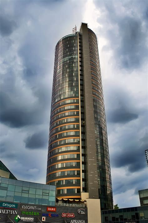 Europa Tower in Vilnius, Lithuania May 2009 | The Europa ...