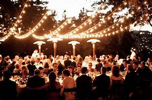 Ritzy ranch vs rustic chic wedding cage match for Outdoor wedding reception lighting
