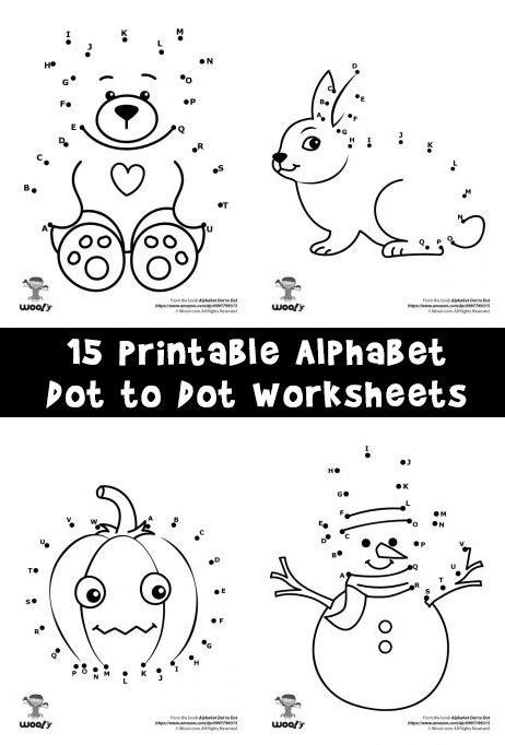 printable alphabet dot  dot worksheets woo jr kids