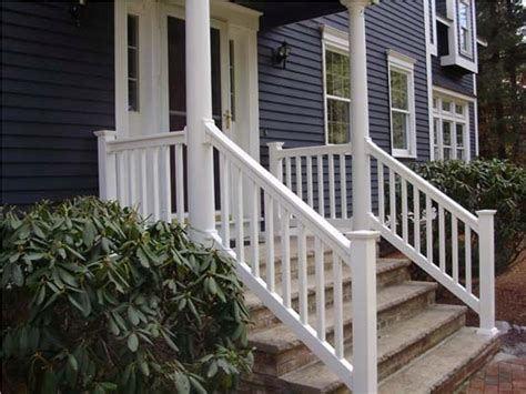 vinyl porch railing vinyl porch railing brackets