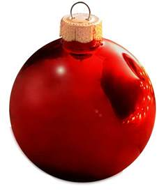 christmas decorations 6 quot christmas red ball ornament shiny finish