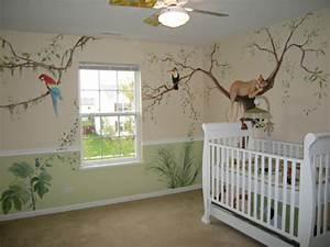 Baby Kinderzimmer Gestalten : 28 coole fotos vom dschungel kinderzimmer ~ Markanthonyermac.com Haus und Dekorationen