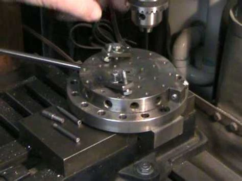 harbor freight 4 rotary table rotary milling table youtube