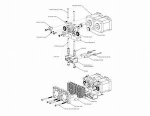 Makerbot Replicator 2 Parts Diagram