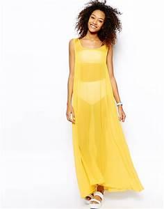robe longue voile jaune ete pas cher la robe longue With robe longue pas cher ete