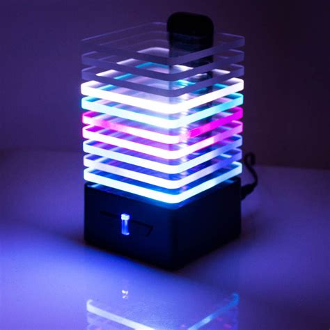 Speakers With Lights by Eq Bluetooth Speaker Light Reactive Led Bluetooth