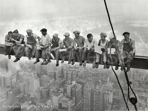 lunch atop a skyscraper lunchtime atop a skyscraper c 1932 print by charles c ebbets at fastframeprints