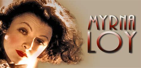 The Versatile Actress Myrna Loy