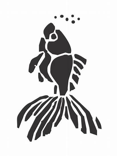 Fish Stencils Printable Stencil A4 Teens Choose