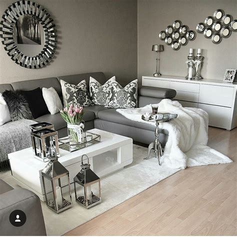 pin by w on gray white living room grey black