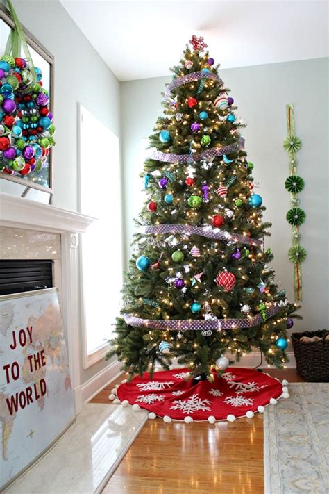 christmas tree decorating ideas  home depot