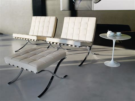 Poltrona Barcelona Knoll by Buy The Knoll Studio Knoll Barcelona Chair At Nest Co Uk