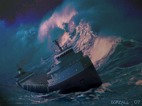 When Did The Edmund Fitzgerald Sank by The Edmund Fitzgerald By Dureall On Deviantart